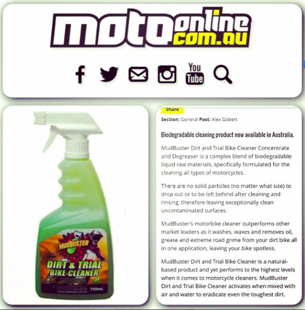 Featured on MotoOnline.com.au