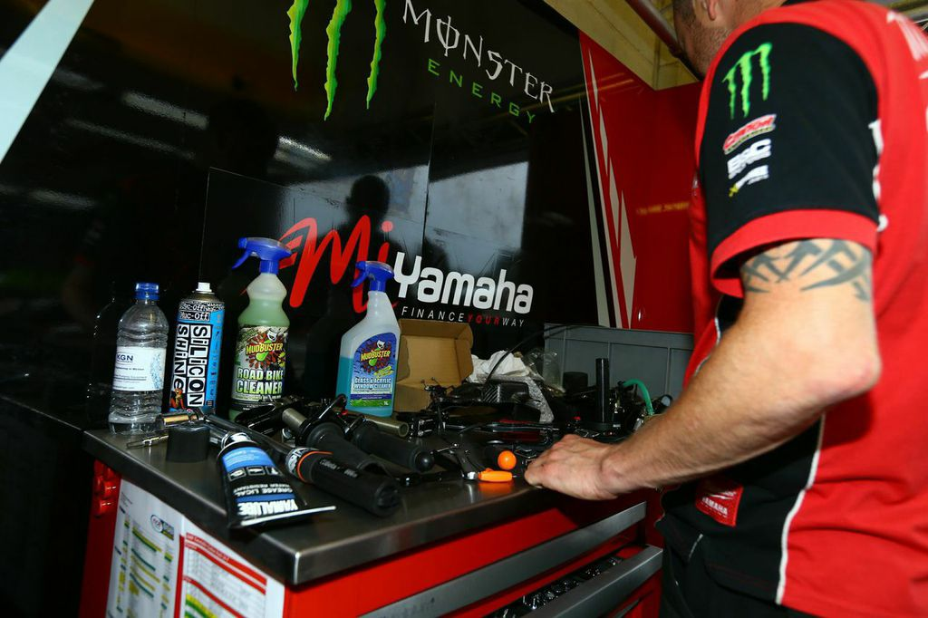 Working with the official Yamaha team