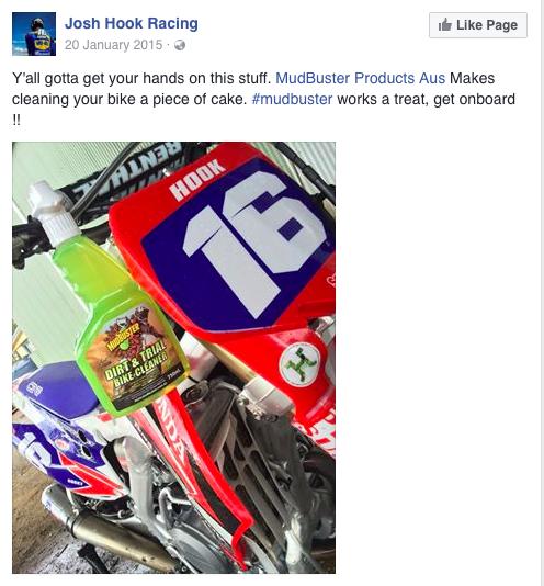 Josh Hook Racer
